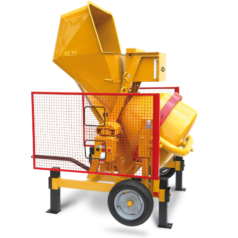AMIS Hydraulic loading Cement mixers